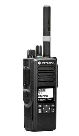 Motorola DP4600 El Telsizi